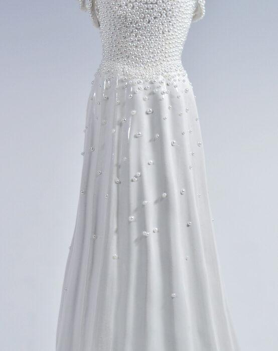 the pearl ballgown stonewear ceramics wedding dress
