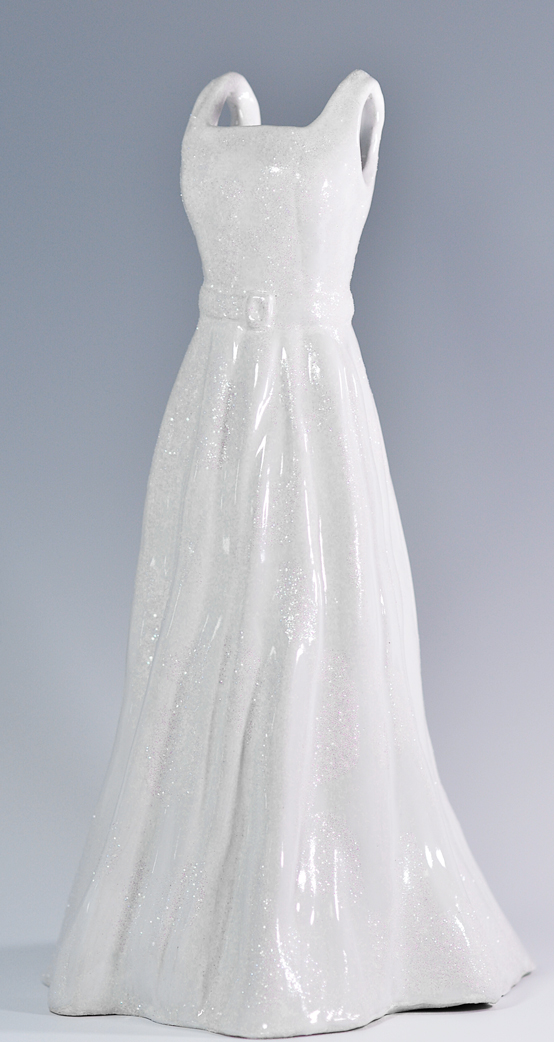 shimmer gown stonewear ceramics