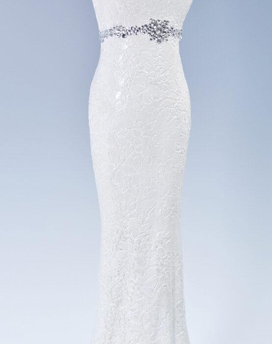 the ivory gown stonewear ceramics wedding dress